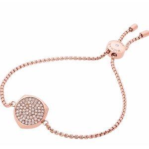 MICHAEL Michael Kors Rose Gold Slider Bracelet